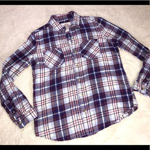 Button up flannel shirt